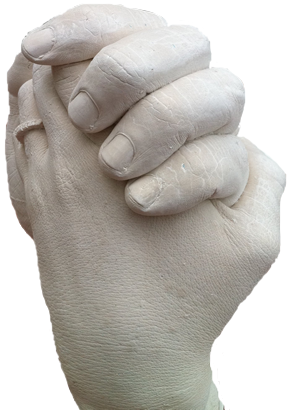 Wedding Hand Casts